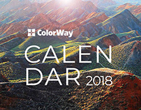 Calendar ColorWay 2018