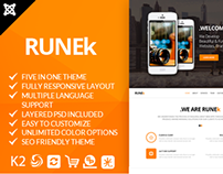Runek - Multipurpose and Responsive Joomla theme