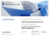Revit Architecture Certified Professional License