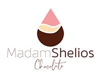 Madam Shelios Chocolate Corporate Identity