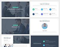 Brawler BusinessGoogle Slides Template