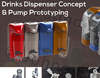 Drinks Dispenser Concept & Pump Prototyping
