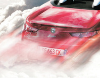 Alfa Romeo Print ads