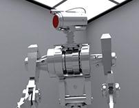 Robot // Cinema 4D