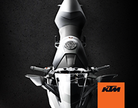 Artes para redes sociales de KTM