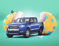 Ford Ranger Digital Media - Easter Greeting
