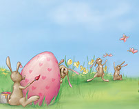Easter greetings for Haberl Gastronomie