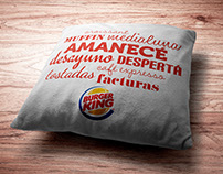 "Burger King · Acción ""Amanecé"""