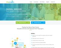 PayLogics Landing page