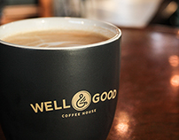 Well & Good Coffee House Branding