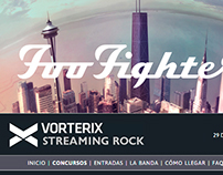 Vorterix + Foo Fighters Web 2.0