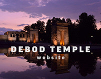 Debod Temple Website