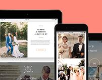 Tablet View - Wedding WordPress Theme