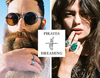 Pirates Dreaming Visual Identity