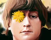 Ilustración John Lennon