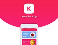 Koodler App - Food App