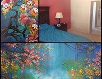 Secluded I & Secluded II - a set of 2 custom paintings