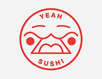 YEAH SUSHI LOGO CONCEPT