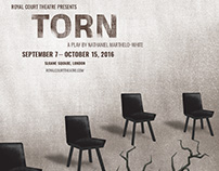 Royal Court Theatre Torn Poster