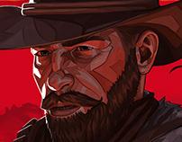 Arthur Morgan RED DEAD REDEMPTION 2 fanart