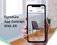 Furniture App Concept With AR