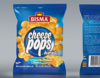Bismah Cheese Pops Re-Design + Free Mockup