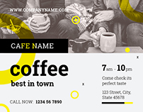 Coffee Shop | Modern and Creative Templates Suite