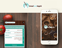 Bread and Bagels - Food and Drink App