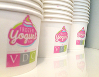 Yogurt bar branding - VDC Naas