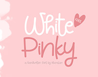 White Pinky Free Font for Commercial Use