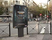 Halloween Club Night Promotion Poster