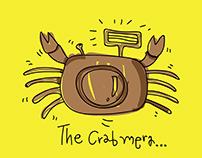 cartoon crab character