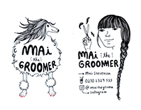 dog groomer business cards. New Zealand