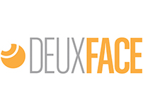 Deux Face brand identity