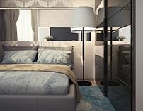 Маленькая и уютная спальня