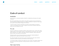 Hack the North Code of Conduct