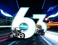 Yamaha - 63rd BIRTHDAY ANNIVERSARY DESIGN
