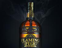 Flaming Pier Whisky   Blue Marlin Spark Awards entry
