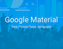 Google Material Design Free PowerPoint Template