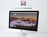 Porf Agency Multipage PSD Template