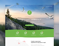 Multi Landing Page for Eco Home Hotel