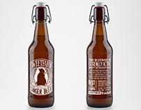 Sweetfarm Ginger Beer Label