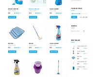 Jharu - Shop page