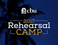 Identity for Rehearsal Camp at the CBU School of Music