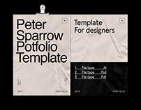 Minimal Portfolio Modern Template