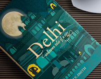 BOOK COVER DESIGN // Delhi – Unknown Tales of a City