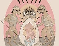 Christmas Card Illustration, 2010
