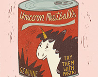 Unicorn Meatballs