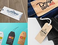 40+ Photorealistic Label / Tag PSD Mockup Templates