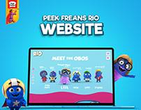 Peek Freans Rio Website